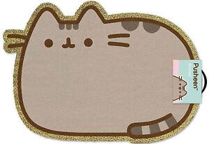 100% De Qualité Pusheen-cat-paillasson, Taille: 57x40 Cm, Matériau De Coco Fibre, Türmatte-afficher Le Titre D'origine