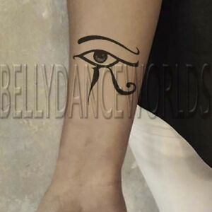 1 Pair Left And Right Egyptian Eye Of Horus Eye Of Ra Tribal
