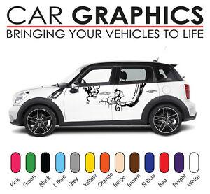 Mini Car Graphics Stripes Decals Stickers Cooper Vinyl Design Mn2 Ebay