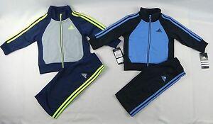 adidas-Baby-Boys-039-set-2-Piece-Sports-set-sizes-12-24-months