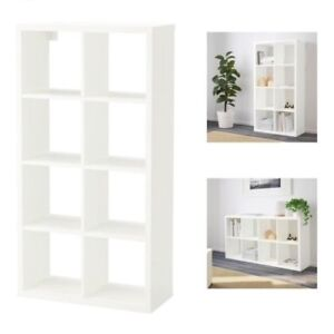 Image Is Loading Ikea FLYSTA 8S White Shelving Unit Home Office