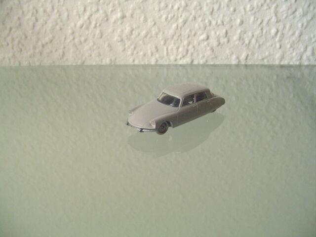Lego 1 87 Citroen DS 19 grau   Modellauto Vintage Rar