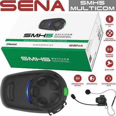 Sena SF4 Einzelset Headset Bluetooth Helm Mikrofon Kopfhörer Motorrad Telefon
