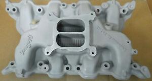 Edelbrock-2665-Performer-Intake-Ford-351-4V-Dual-Plane-4150-Flange
