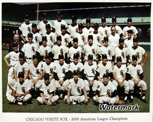 MLB-1959-Chicago-White-Sox-Color-Team-Picture-8-X-10-Photo-Picture