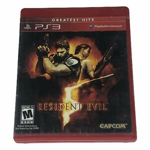 Resident-Evil-5-Sony-PlayStation-3-2009-Complete-w-Manual