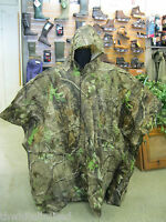 Rocky Camouflage Waterproof Poncho Realtree Apg Hunting Fishing Shooting (ss)