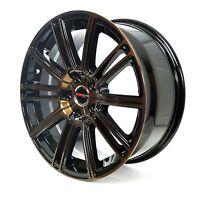 4 Gwg Wheels 18 Inch Metallic Bronze Flow Rims Fits 5x108 Ford Focus St 2013-16