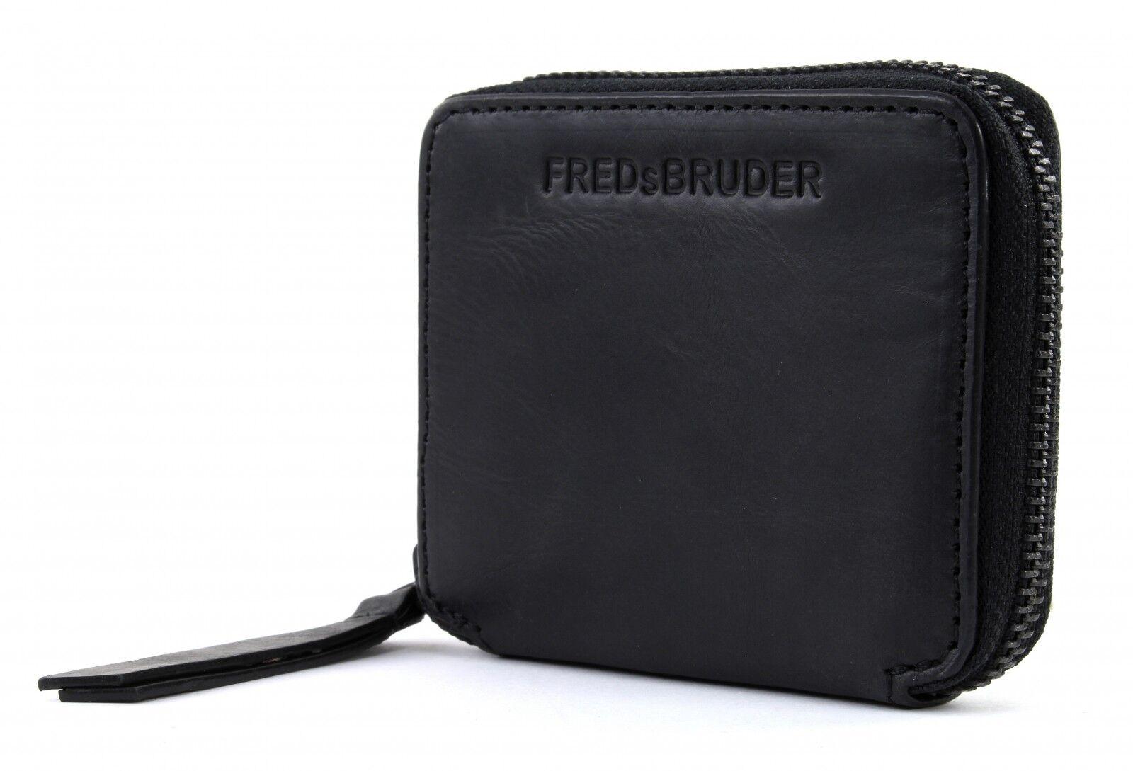 FREDsBRUDER College VT Line Tozzer Mini Geldbörse Black Schwarz Neu