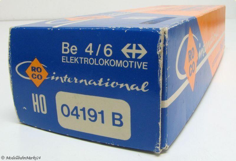 ROCO 04191 04191 04191 B SBB Ellok Be 4 6 12320 Epoche II 3L - OVP    Um Zuerst Unter ähnlichen Produkten Rang  31e4a4