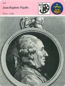 """FICHE CARD Jean-Baptiste Pigalle Sculpteur 1714-1785 Paris Louis XV France 90s - France - PORT EUROPE GRATUIT A PARTIR DE 4 OBJETSBUY 4 ITEMS AND EUROPE SHIPPING IS FREE FICHE FRANCE ANNEES 90s ETAT VOIR PHOTO FORMAT 16 CM X 12 CM SIZE : 6.29 """" X 4.72 """" inch FICHE SCOLAIRE .7 - France"""