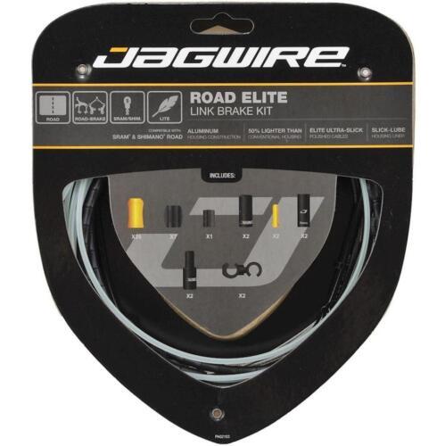Black ALZ New Upgrade Jagwire RCK700 ROAD Elite Link Brake Cable Kit