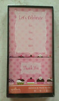 Hallmark Boxed Set - 10 X Invitation & 10 X Thank You Cards & 20 X Envelopes