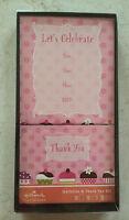 Hallmark Boxed Set - 10 X Invitation & 10 X Thank You Cards & 20 X Envelopes