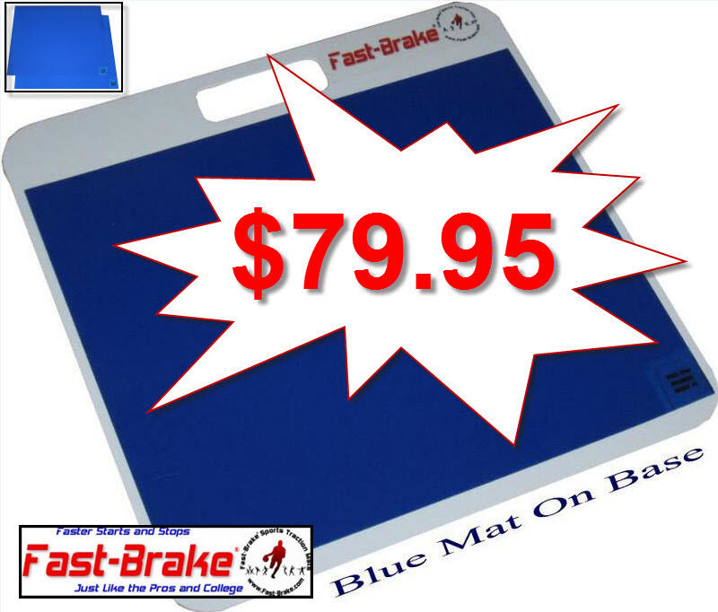 Basketball Traction System - Base and Pad 18  X 19  (60 bluee Sheets)