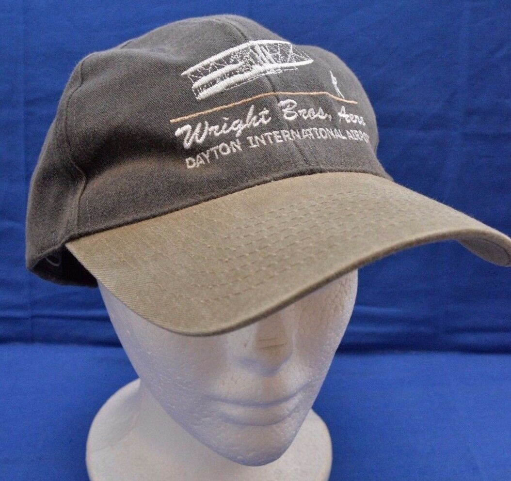RARE Wright Bros Aero Service Pre-Owned Dayton Airport Baseball Cap Pre-Owned Service fb3f0a