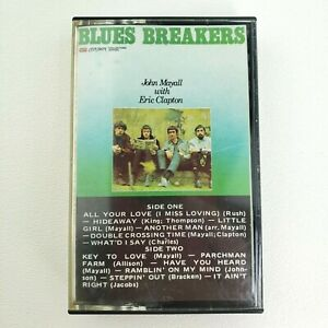 Blues-Breakers-John-Mayall-with-Eric-Clapton-Cassette-Tape-London-70s