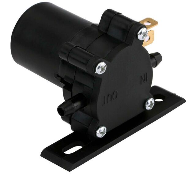 UNIVERSAL WINDSCREEN WIPER WASHER PUMP 12V VOLT WATER TRANSFER PIPE FOR VEHICLES
