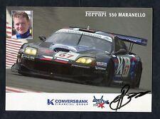 K Conversbank Handout - Ferrari 550 Maranello & Alexey Vasiliev