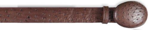 Men/'s Los Altos Handmade Genuine Full Quill Ostrich Cowboy Belt Removable Buckle