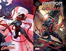 GWENOM VS CARNAGE #1 A /& B RYAN BROWN variant KING IN BLACK MARVEL KNULL 1//13//21