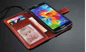 Housse-Etui-Coque-Portefeuille-en-cuir-pour-Samsung-Iphone-et-Nokia