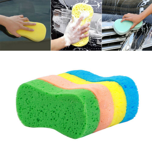 Large Vacuum Compressed Sponge Car Wash Magic Cleaning Washing Tool Accessories