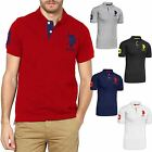 Mens Short Sleeve 100% Cotton Small EX-US Polo Assn Pony T Shirt RRP $69.00