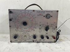 Vintage Emc Model 801 Resistance Capacitance Comparator Bridge