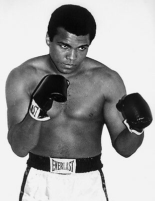 Muhammad Ali Boxing Vintage Black /& White Poster A3 A1 A2 A4 available