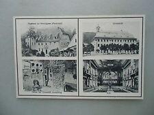 Ansichtskarte Heidelberg um 1900 Gasthaus Hirschgasse Universität Aula ...