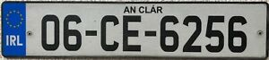 GENUINE-Southern-Ireland-Co-Clare-Eire-Number-Licence-License-Plate-06-CE-6256
