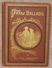 Farm Ballads by Will Carleton 1882