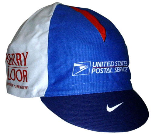 Ten 10 US POSTAL SERVICE Berry Floor CYCLING CAPS One Size