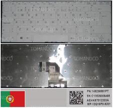 Clavier Qwerty PO Portugais SONY SVF 14, MP-12Q16P0-9201, 149236891PT Blanc