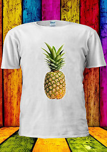 Pineapple-Fruit-Hipster-Black-Food-T-shirt-Vest-Tank-Top-Men-Women-Unisex-2139