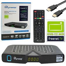 Freenet TV DVB-T2 Receiver Skymaster DTR 5000 HEVC HDMI USB H.265 Irdeto FullHD