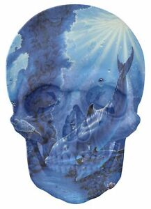 Gothic-Skull-Double-Exposure-Fantasy-Dolphins-Under-Sea-View-Sticker-Mural-464