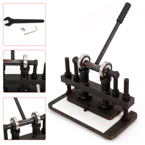 26X12cm-Double-Wheel-Hand-Leather-Cutting-Machine-Manual-Die-Cutter-Machine-UK