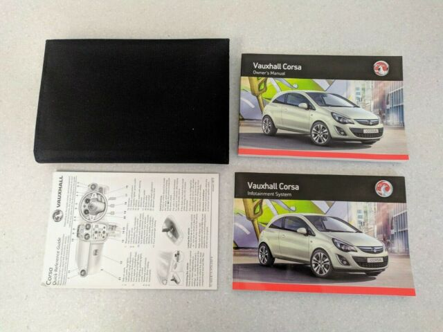 Vauxhall ANTARA 2016 ALL MODEL Service Book New Blank Genuine
