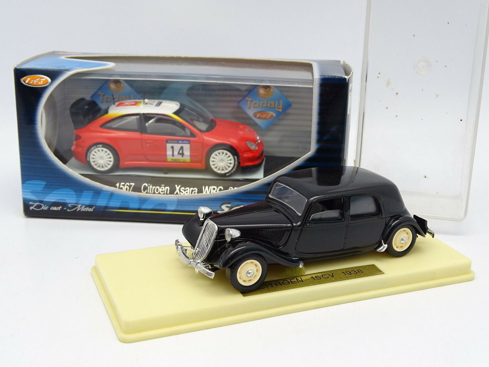 Solido 1 43 - 2er Satz Satz Satz  Citroen Xsara WRC & Citroen Traction cb81af