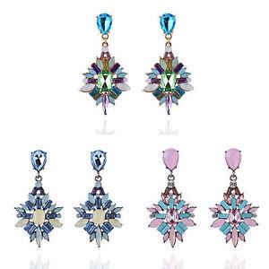 Vintage-Women-Crystal-Resin-Boho-Drop-Dangle-Ear-Stud-Earrings-Fashion-Jewellery