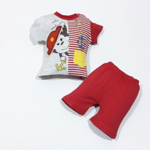74 ; 80 ; 86 | |Gr Shorts Oberteil ♥ Neu ♥ Babykleidung |2-teilig|