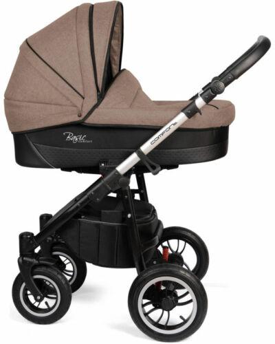 Kinderwagen 2in1 mit Babywanne Sportsitz und Wickeltasche Basic