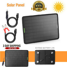 50w 12v Car Boat Yacht Solar Panel Trickle Battery Charger Power Supply Outdoor
