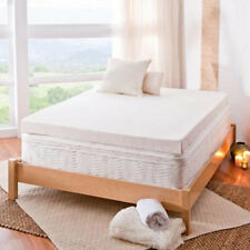 Spa Sensations 4 Memory Foam Mattress Topper With Theratouch