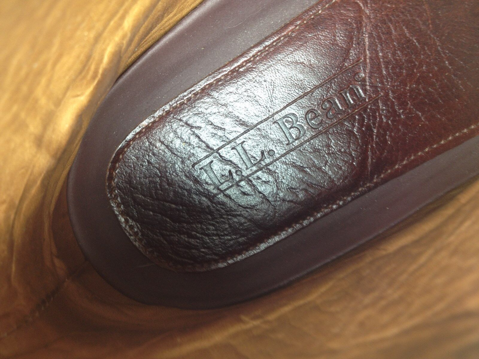 L.L BEAN LACE UP braun LEATHER CHORE CHORE CHORE PACKER ENGINEER HIKING Stiefel 10 D effe0a