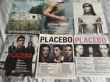 PLACEBO - LIVE meds EVERY YOU sleeping ghosts - original advert / small poster
