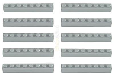 3008 Lego Basisstein Baustein 1x8 alt hellgrau light gray 300802