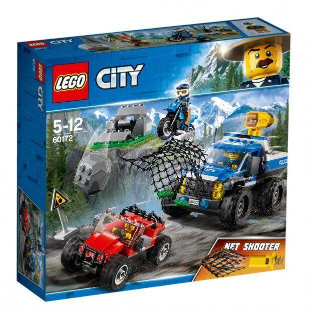LEGO CITY POLICE DUELLO FUORI STRADA  5-12 ANNI    ART  60172